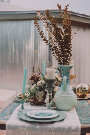 Boho Chic Wedding Styled Shoot With Dreamy Paper Details