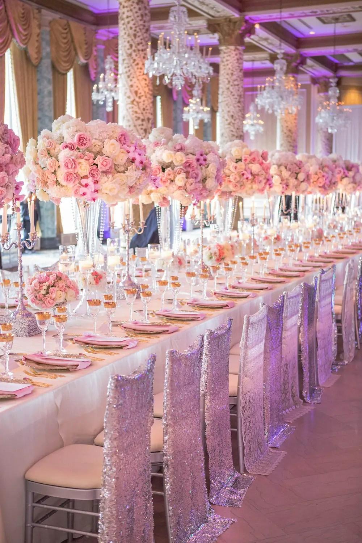 Wedding Ideas  Long Reception Tables  Belle The Magazine