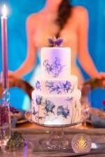 Floral wedding cake - Gavin Farrington Photography