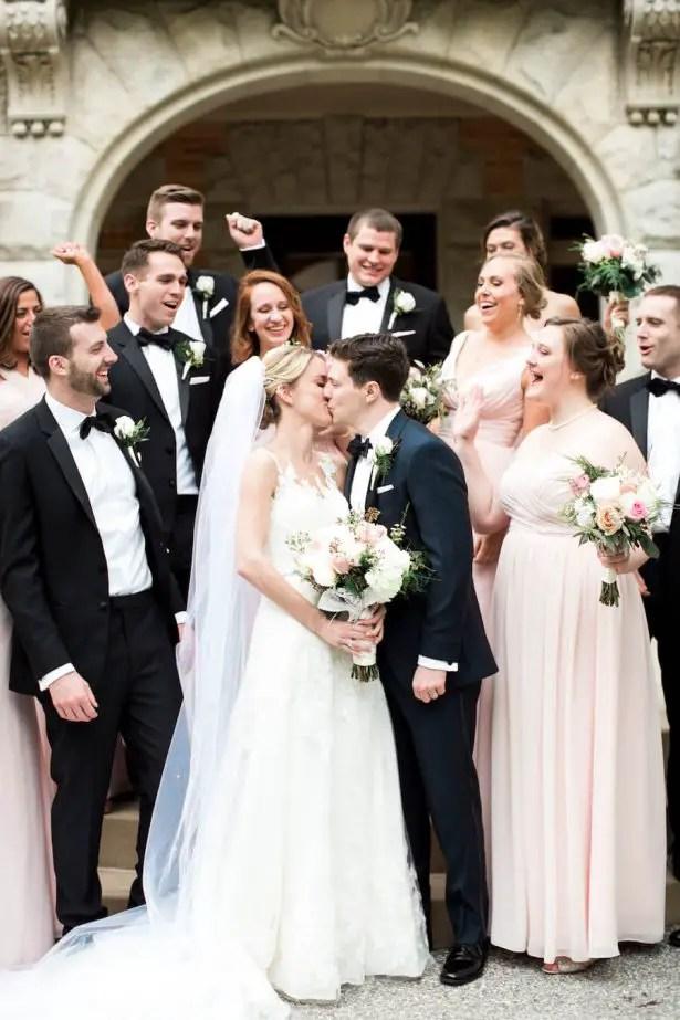 MiddleSchool Sweethearts Tie The Knot On A BlackTie Wedding