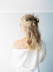 ethereal winter bridal style inspiration