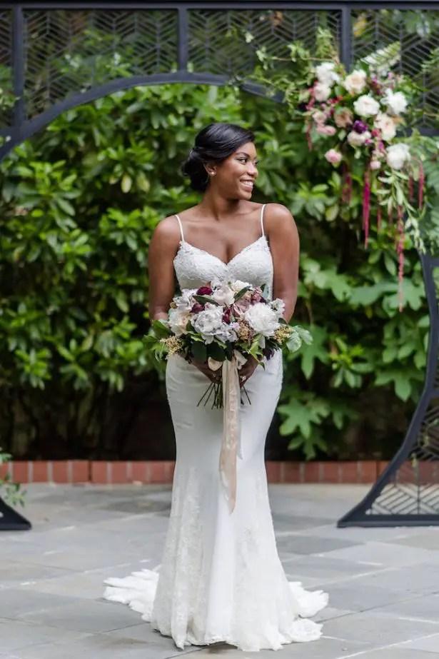 Bold And Romantic Wedding Inspiration In Historic Atlanta
