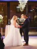 Ballroom modern wedding ceremony - Photography: Rochelle Louise