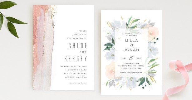 Where to get Stylish Wedding Invitations: Paper and Digital