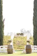 Outdoor winery wedding ceremony - Janita Mestre Photography
