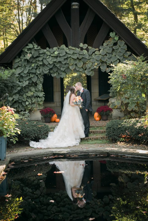 Romantic Fall Wedding  Belle The Magazine