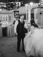 black and white wedding photo - Sarah Nichole Photography