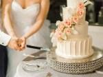 gorgeous nashville wedding cake - Sarah Nichole Photography