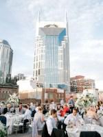 rooftop wedding reception nashville - Sarah Nichole Photography