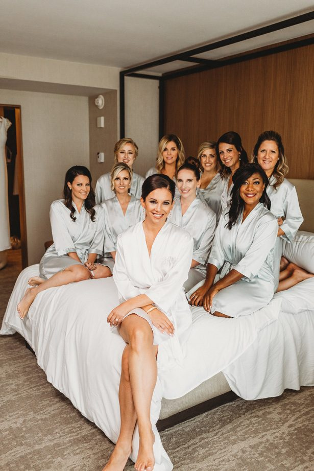 Bridesmaid Robes - Man and Wife Photography