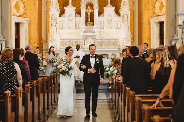 Church wedding ceremony - Man and Wife Photography