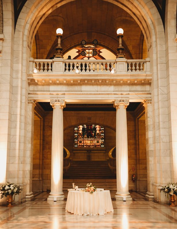 Historic building wedding venue - Man and Wife Photography