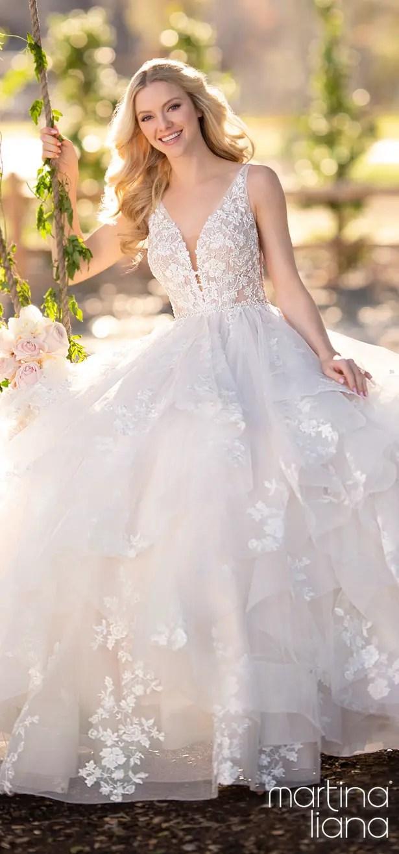 "Martina Liana Spring 2020 Wedding Dresses - 1105 ""width ="" 615 ""height ="" 1315 ""data-pin-description ="" Make a Statement with Martina Liana's Latest Collection: ""A Statement of Love"" | Martina Liana Spring 2020 Wedding Dresses - 1105 | #Weddingdress #bridalgown #bridal #bridalgowns #weddinggown #bridetobe #weddings #bride #dreamdress #bridalcollection #bridaldress #dress See more gorgeous wedding dresses by clicking on the photo ""data-pin-id ="" 21673641944095776 ""srcset ="" https://bellethemagazine.com/wp-content/uploads/2019/05/Martina-Liana-Spring-2020-Wedding-Dresses-1105A1-Martina- Liana.jpg 615w, https://bellethemagazine.com/wp-content/uploads/2019/05/Martina-Liana-Spring-2020-Wedding-Dresses-1105A1-Martina-Liana-300x641.jpg 300w ""sizes ="" ( max-width: 615px) 100vw, 615px ""data-jpibfi-post-excerpt ="" ""data-jpibfi-post-url ="" https://bellethemagazine.com/2019/06/martina-liana-wedding-dresses-2020 -a-statement-of-love.html ""data-jpibfi-post-title ="" Make a Statement with Martina Liana's Latest Collection: ""A Statement of Love"" ""/></a data-recalc-dims="
