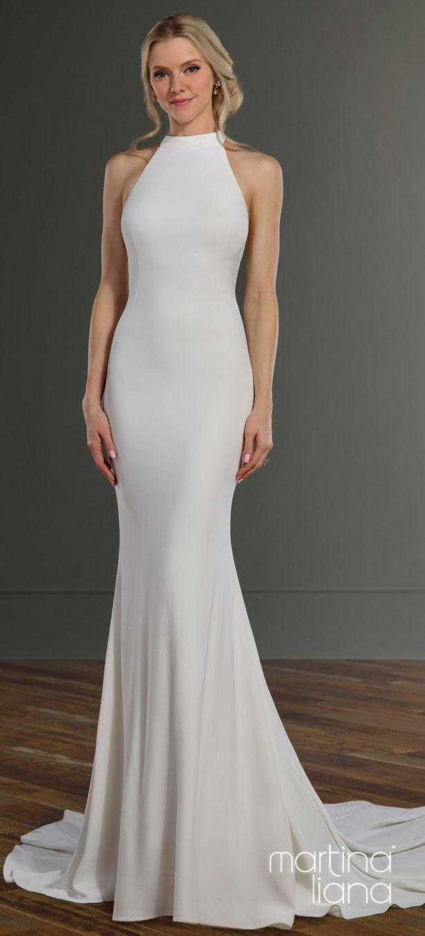 """Martina Liana's Spring 2020 Wedding Dresses - 1163 """"width ="""" 615 """"height ="""" 1353 """"data-pin-description ="""" Make a Statement with Martina Liana's Latest Collection: """"A Statement of Love"""" 