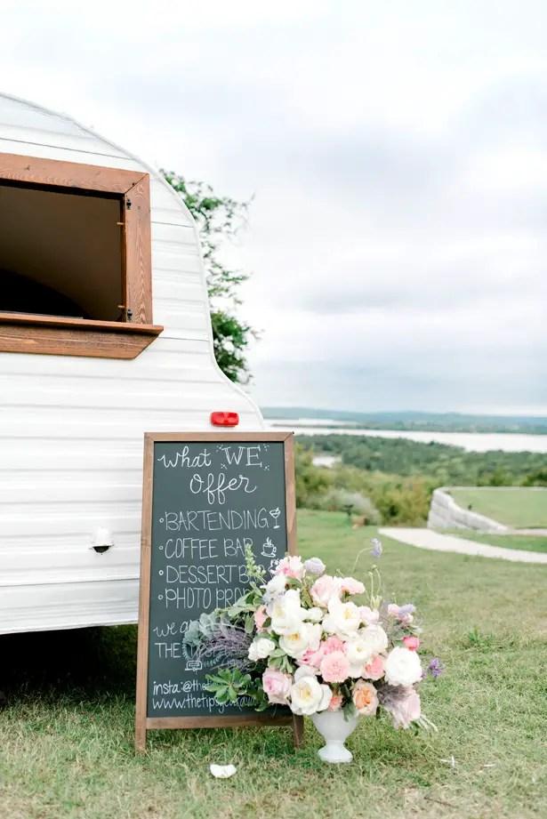 Wedding Camper Bar Sign - Bobby Jean Photography
