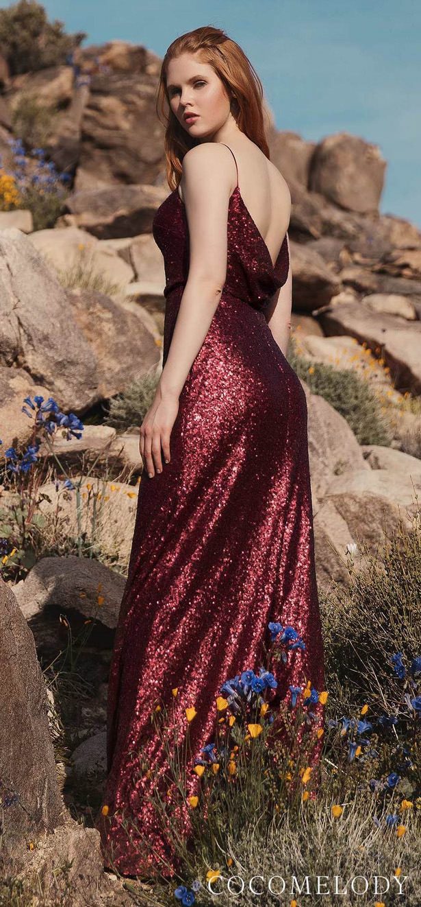 Sequins Bridesmaid Dress Trends by Cocomelody 2020 - MILLIE