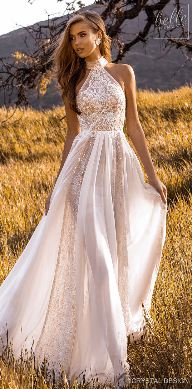 "Crystal Design Couture Wedding Dresses 2020 - Catching The Wind Collection - Ibiza ""width ="" 615 ""height ="" 1243 ""data-pin-description ="" Crystal Design Couture Wedding Dresses 2020 - Catching The Wind Collection - Ibiza 
