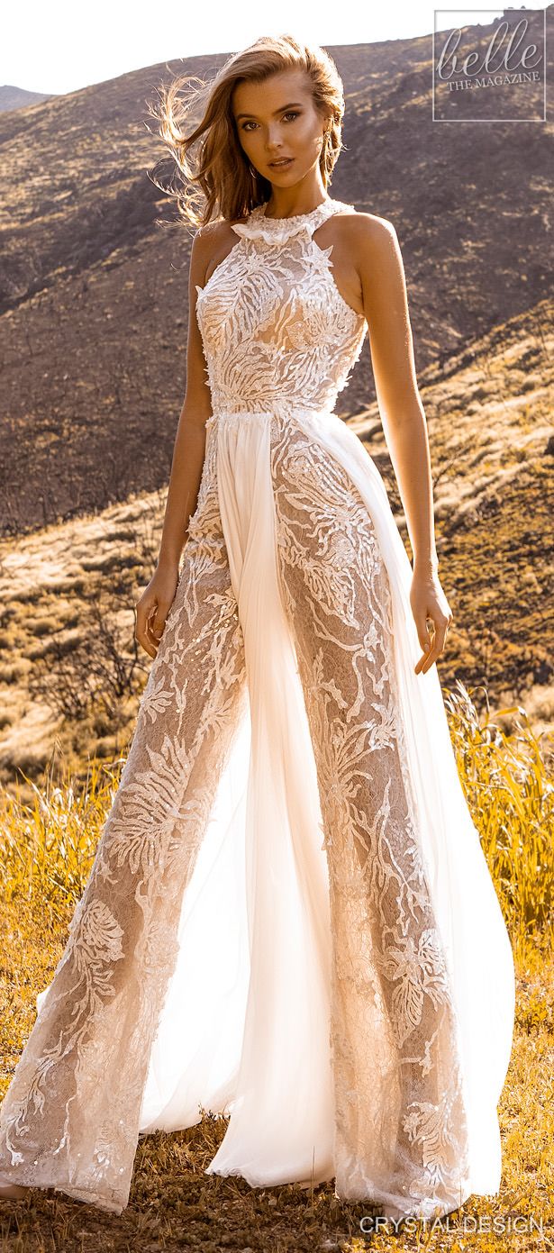 "Crystal Design Couture Wedding Dresses 2020 - Catching The Wind Collection - Tenerife ""width ="" 615 ""height ="" 1391 ""data-pin-description ="" Crystal Design Couture Wedding Dresses 2020 - Catching The Wind Collection - Tenerife 