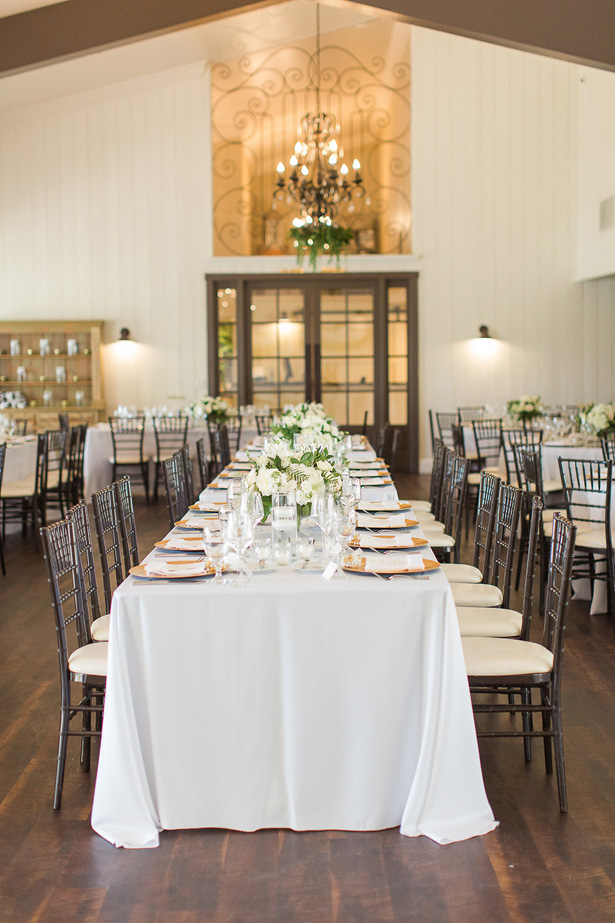 Long boho wedding table - Theresa Bridget Photography