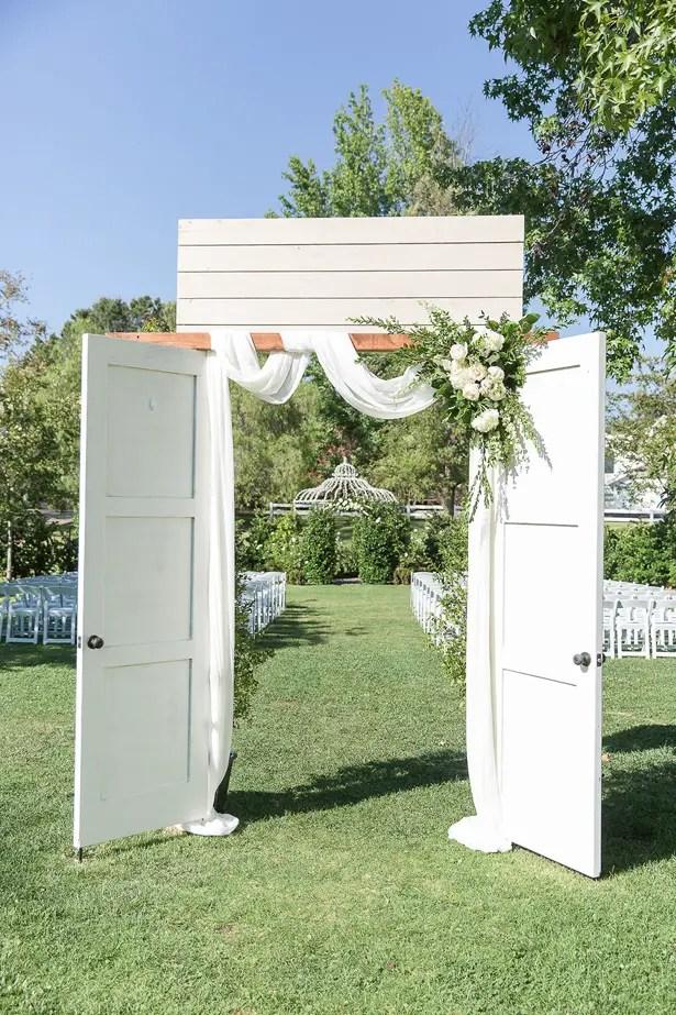 boho outdoor wedding decor - Theresa Bridget Photography