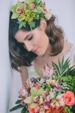Stylish Tropical Bridal Look - George Pahountis Photographer