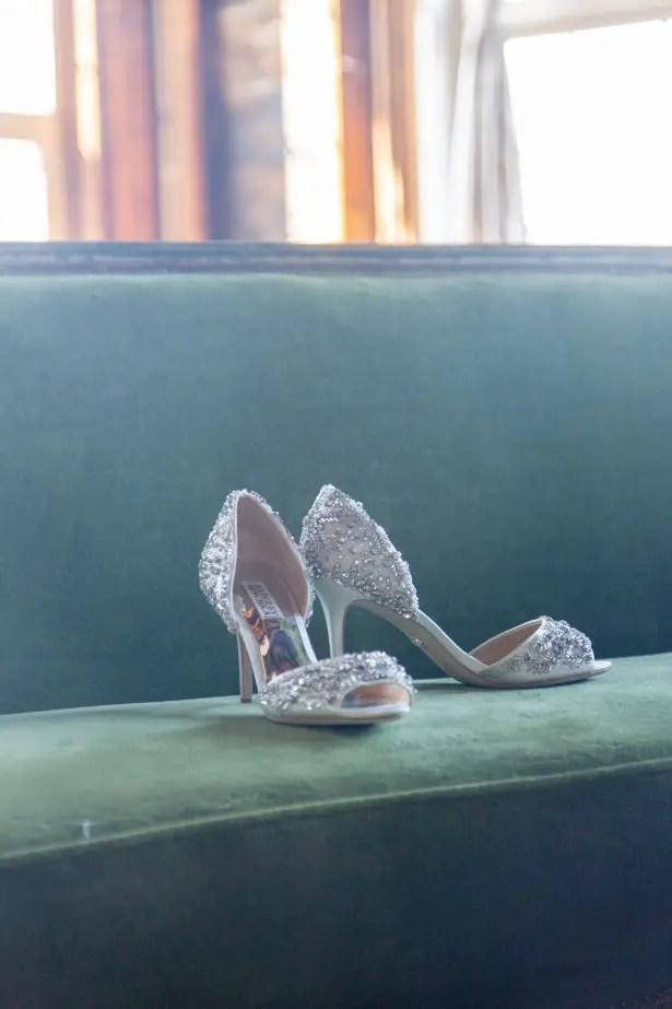 Glamorous wedding shoes - Photography: Szu Designs, Inc