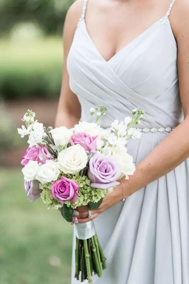 Glamorous summer wedding bouquet - Lynne Reznick Photography
