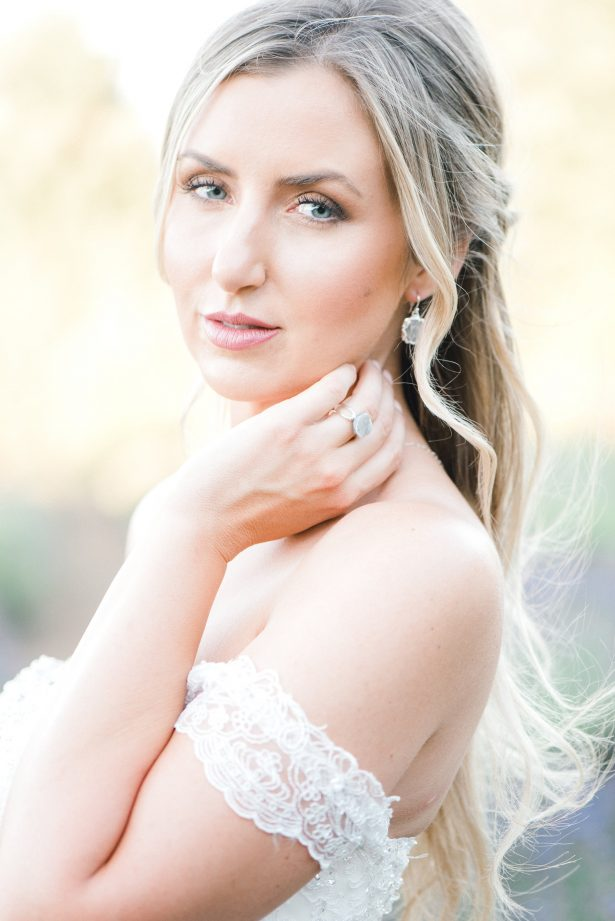 Romantic wedding day makeup - Lauryn Kay Photography