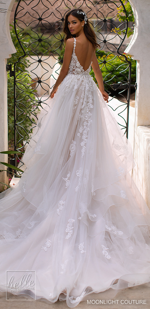 Moonlight Couture Wedding Dresses Fall 2019 Belle The