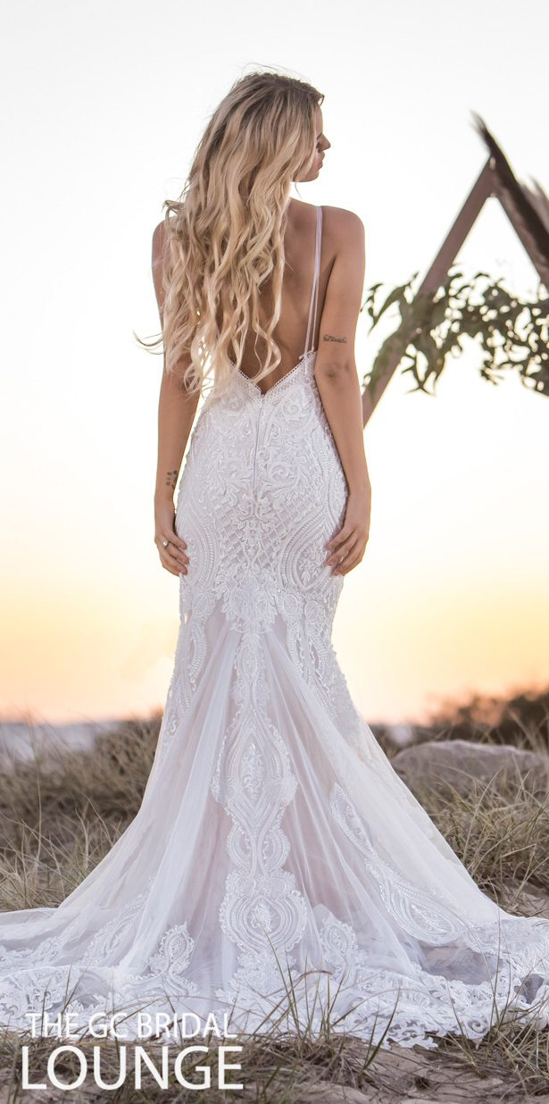 Kate Gubanyi for The GC Bridal Lounge Wedding Dresses 2020 - On Fire Bridal Collection - Siren