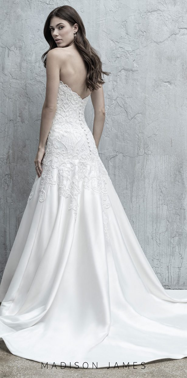 Stunning Wedding Dresses by Madison James Fall 2019 - MJ553