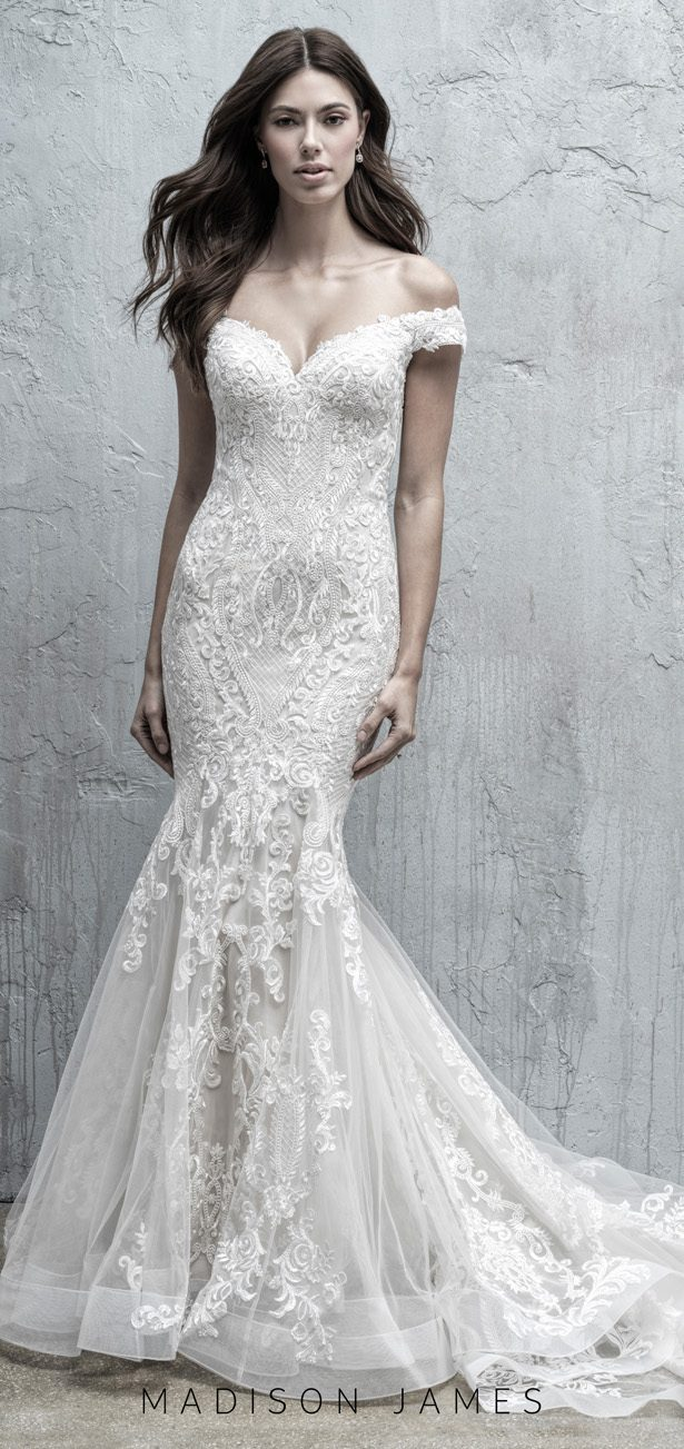 Stunning Wedding Dresses by Madison James Fall 2019 - MJ557F