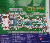 Grand Riviera Princess Resort Map