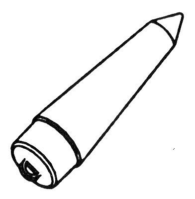 Custom Rockets PC-20A Plastic Nose Cone