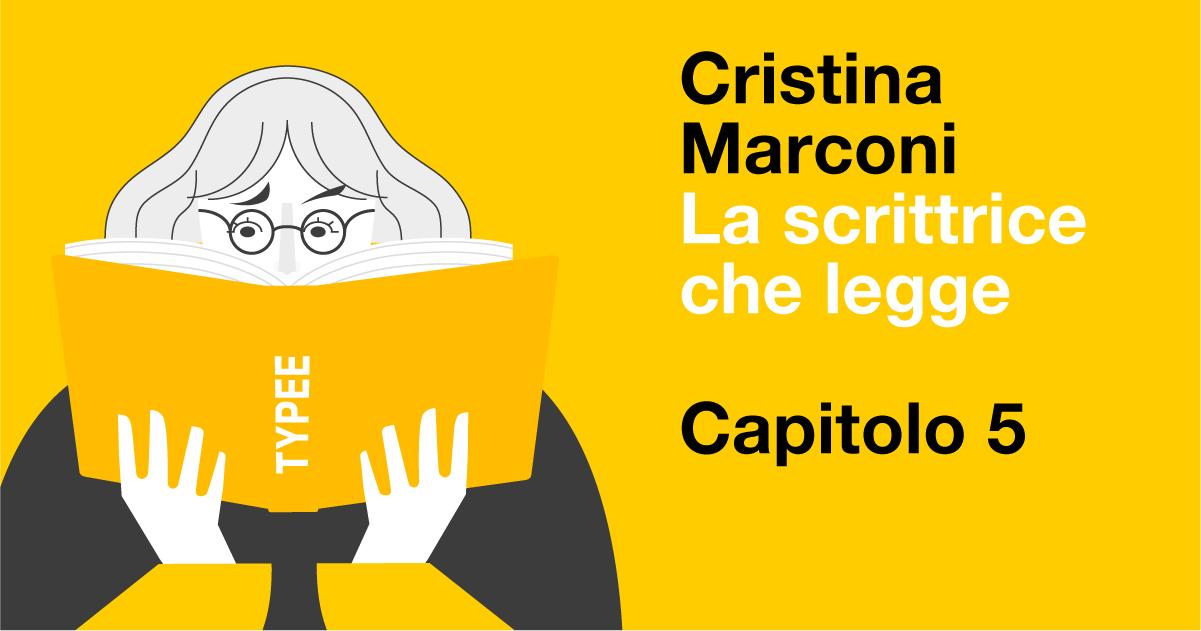 La scrittrice che legge, Marconi / 5