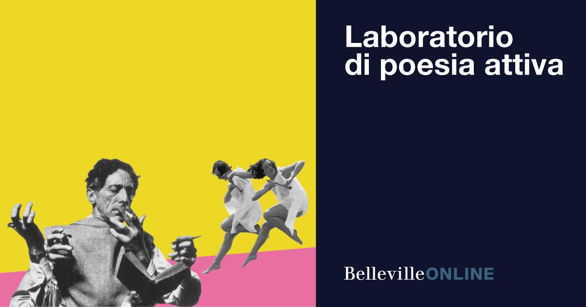 Laboratorio di poesia attiva, vincitore borsa di studio
