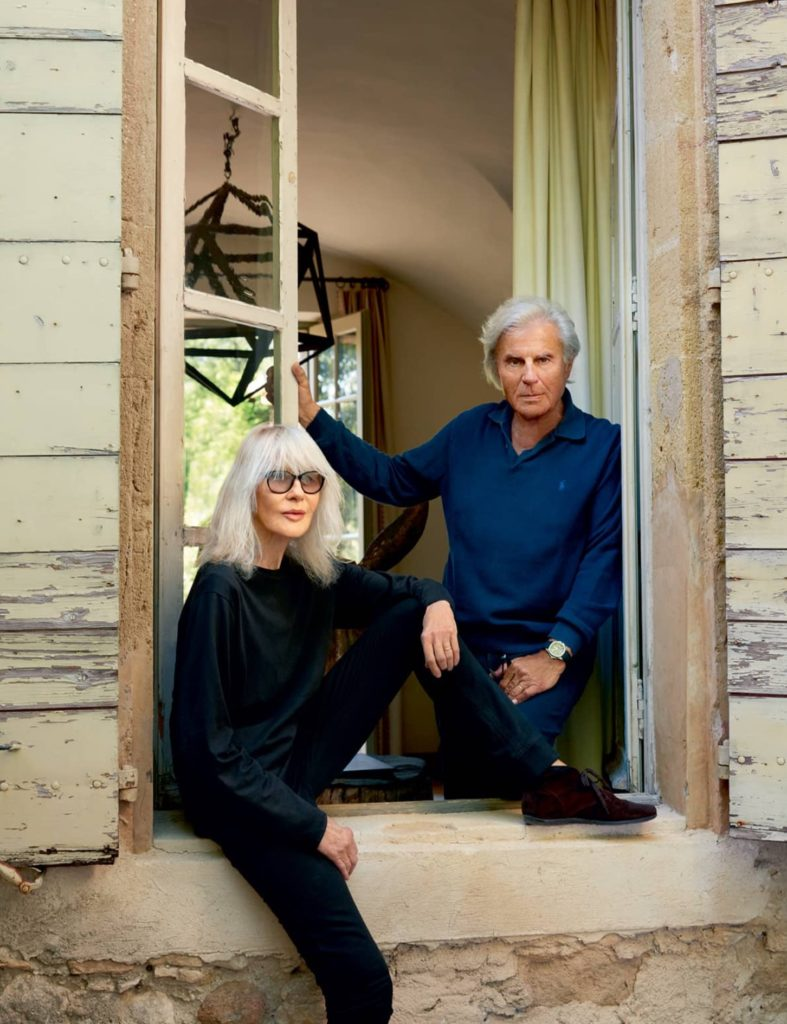 Francois and Betty Catroux Provenal Home Les Ramades