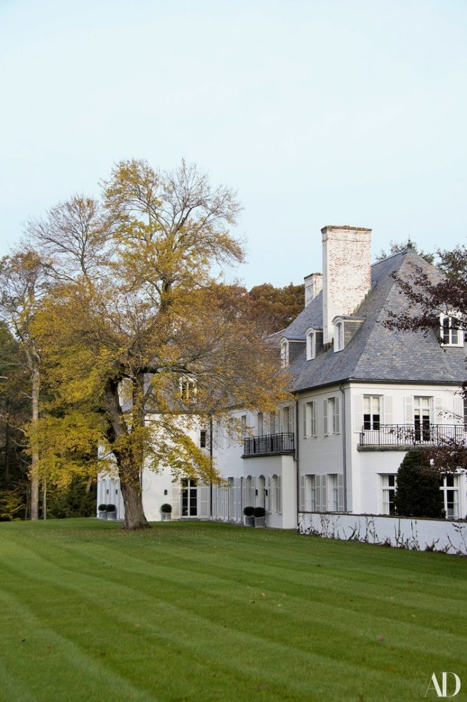 Reed and Delphine Krakoffs Connecticut Home