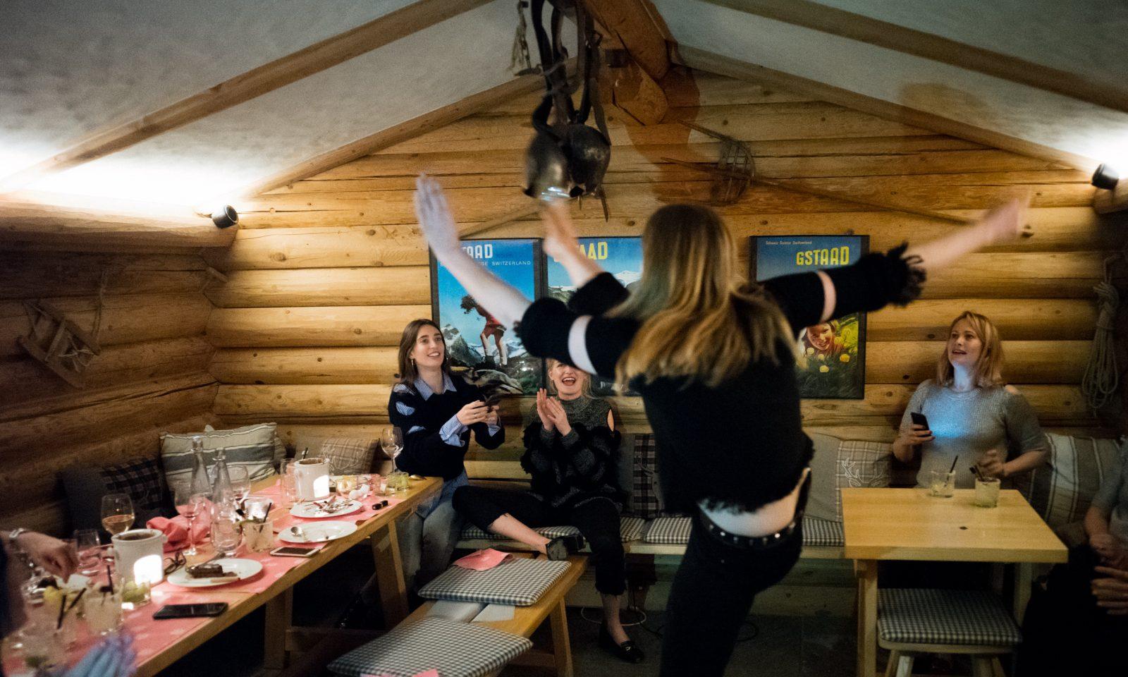 Le Petit Chalet Gstaad Fondue Raclette Le Grand Bellevue