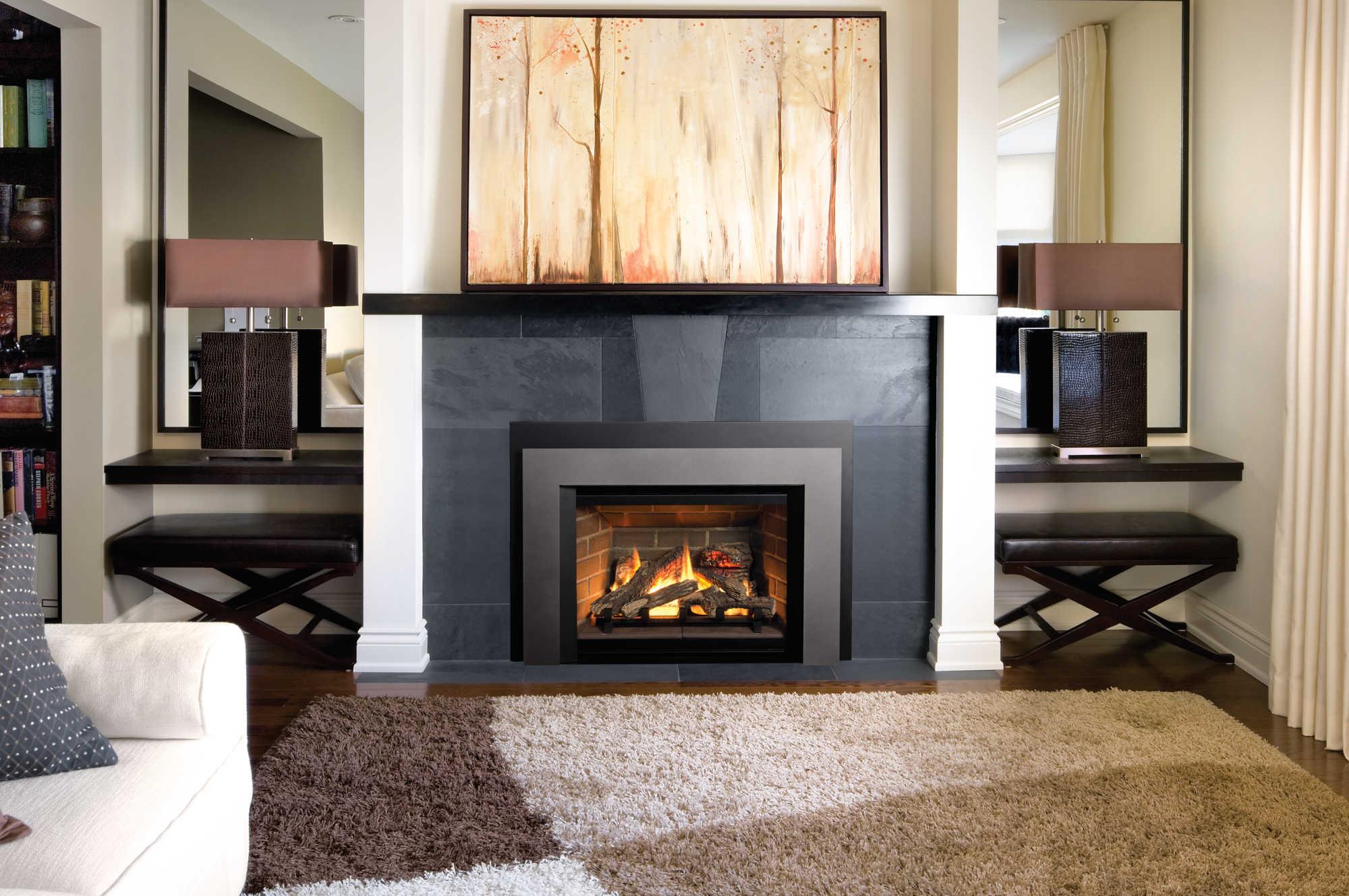 Stupendous Mendota Gas Fireplaces Home Interior And Landscaping Ologienasavecom