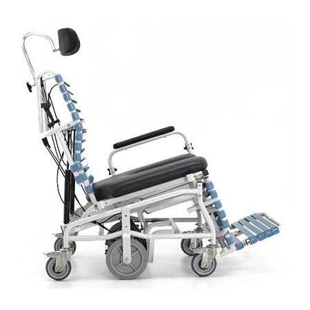 broda chair accessories hickory hattie king bed revive bariatric tilt & recline shower commode - bellevue healthcare