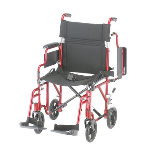 Nova Lightweight Transport Chair with Detachable Arms