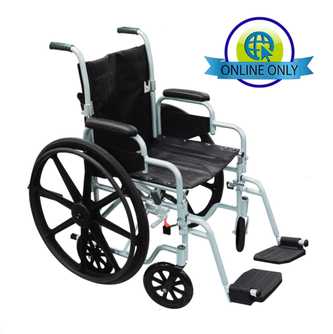 drive wheel chair low back poly fly high strength lightweight wheelchair transport combo bellevue healthcare