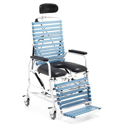 broda chair accessories walmart beach chairs on sale revive tilt recline shower commode bellevue healthcare