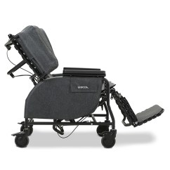 Broda Chair Orange Wicker Midline Tilt Recliner Bellevue Healthcare