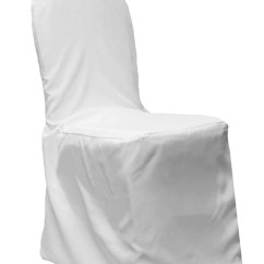 Chair Cover Rental Shreveport La Blue Sash Polyester White Banquet Belle Weddings And