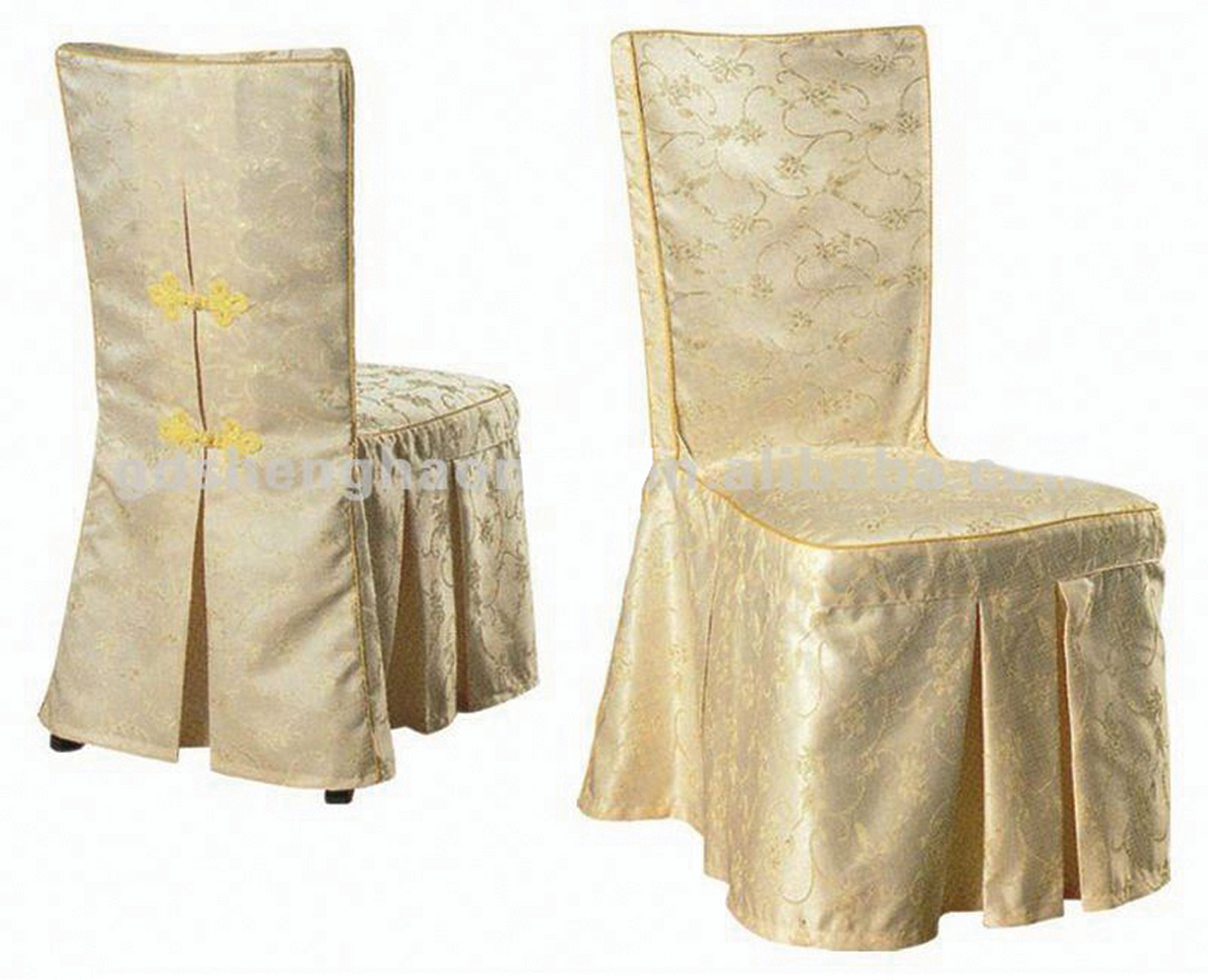 chair cover rental cost bedroom green polyester ivory with tie detail at