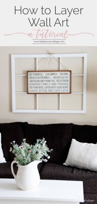 How to Layer Wall Art to Get More Mileage From Your ...