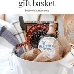 Bridal Shower Gift Idea Pancake Breakfast Gift Basket Bellewood Cottage