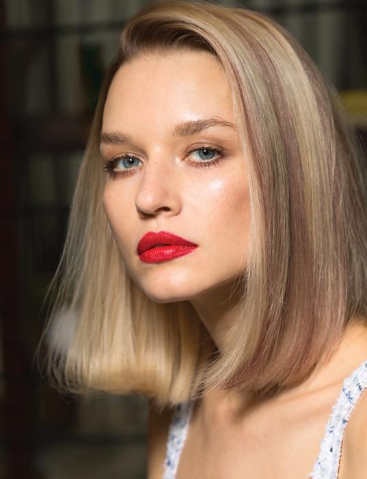 Balmain Paris Hair Couture, mechas chunky